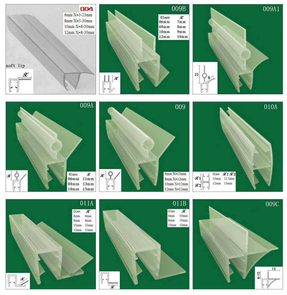 Magnetic Seal Strip Magnetic Door Seal Plastic Seal And Gasket